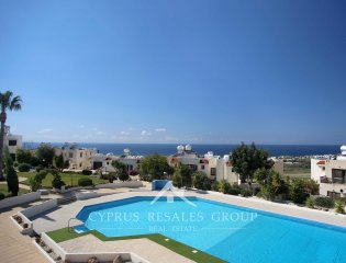 Acropaphos 2 Bedroom Sea View Townhouse Property Image