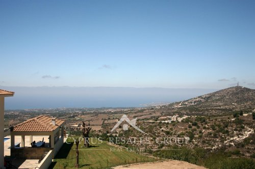 Amazing sea views from Leptos Estates Olympus Village, Tsada, Paphos, Cyprus