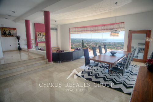 Villa Peyia Panorama, Cyprus - wow effect lounge