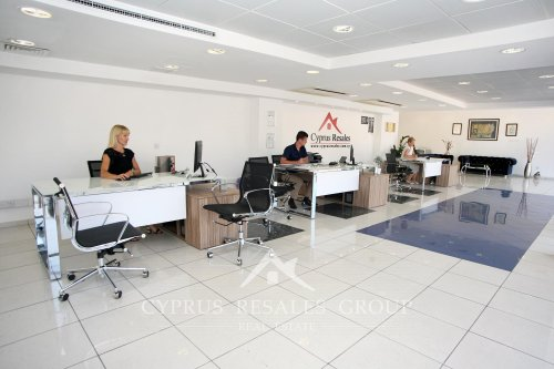 Cyprus Resales estate agents office at 7 Tombs of the Kings Avenue in Paphos, Cyprus