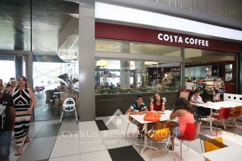 Costa Coffee in Paphos Mall, Cyprus