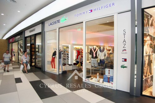 Stylish shopping with Lacoste and Tommy Hilfiger in Paphos Mall, Cyprus