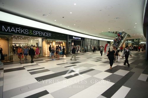 Great shopping in Paphos Kings Avenue Mall - Marks & Spencer, Beauty Line and more under one roof.