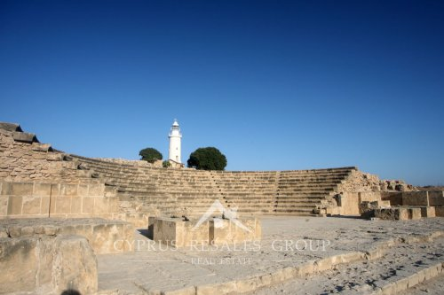 Paphos Lighthouse and Odeon amphitheatre