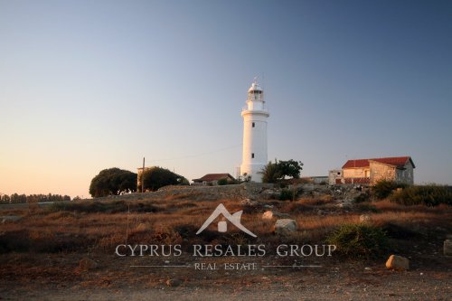 The Lighthouse in the morning sun - Paphos
