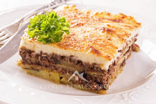 Moussaka is the top of the list Cypriot dish, highly recommended to tourists.