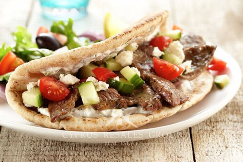Cyprus Souvlaki kebabs are served in many local taverns where you could choose to eat in or take away.