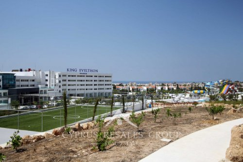 King Avelthon Hotel with waterpark in Chloraka, Paphos, Cyprus