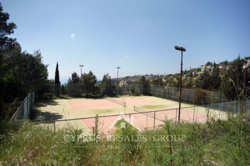 Kamares Village Tennis Court - great facility for Kamares residents