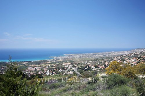 Views over Coral Bay from Leptos Kamares Village