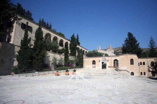 Saint Neophytos Monastery near Kamares founded in 12th century.