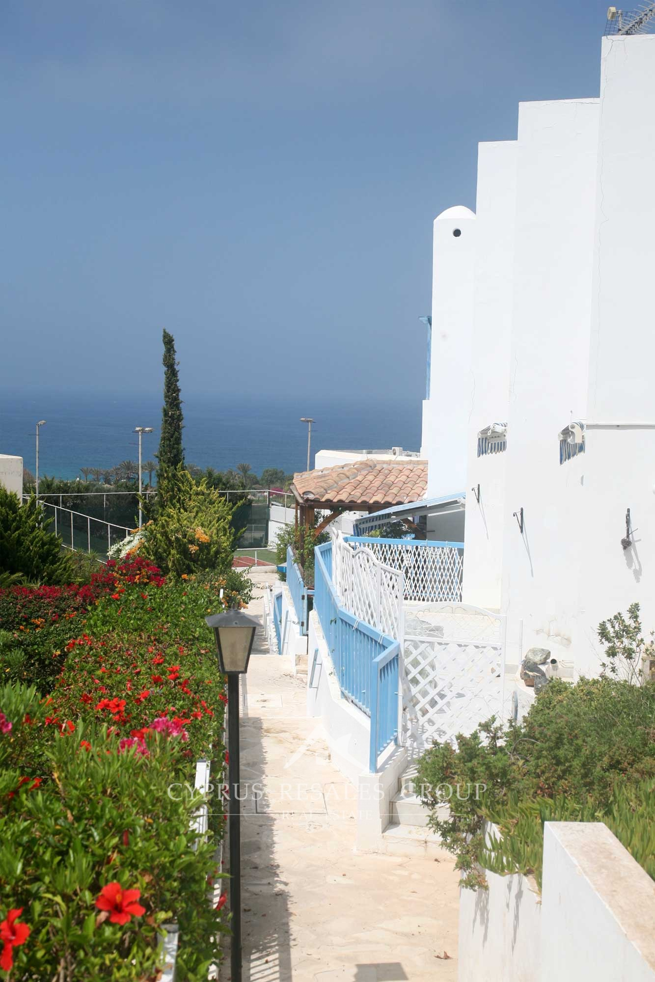 Terrace Village: Lordos Ikaria Village Terrace Apartment In Paphos For Sale