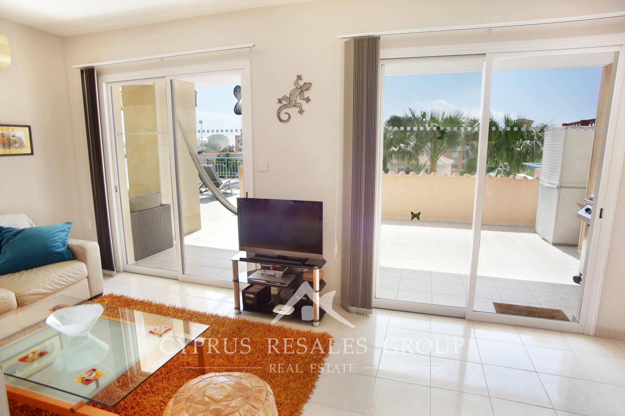 3 Bedroom Penthouse Apartment in Ilios II Kato Paphos Cyprus