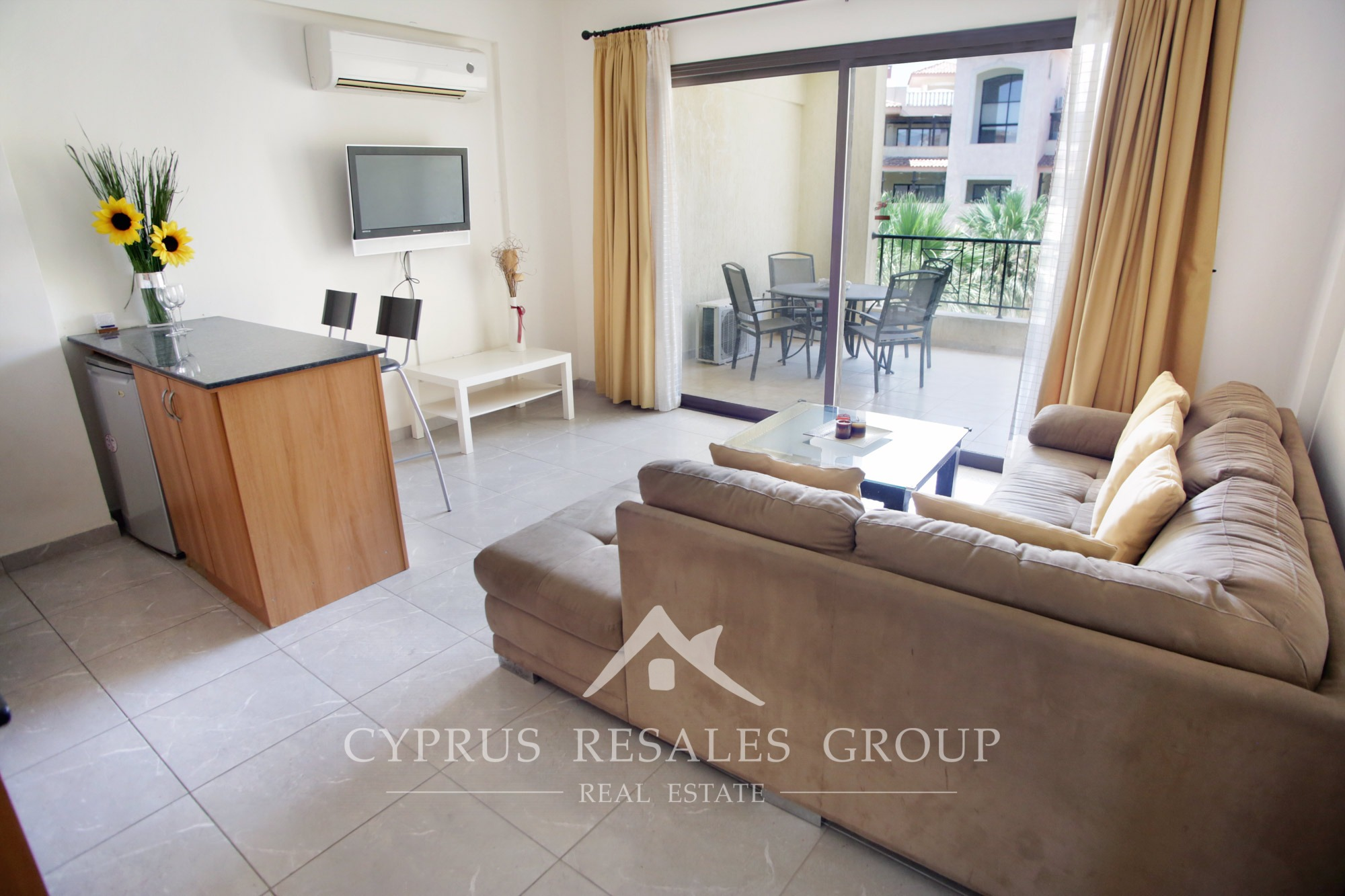 Apartment for sale in kato paphos 1 bedroom apartment - One bedroom apartments in queens ...
